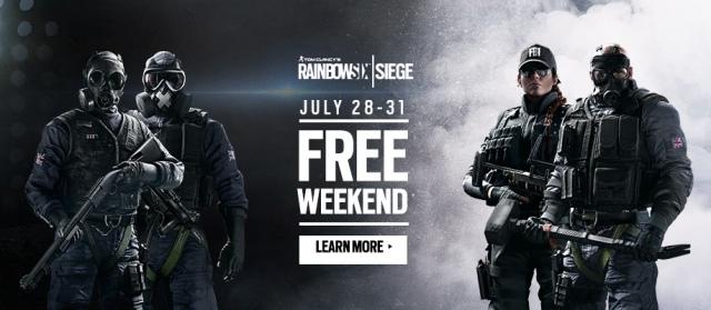 Hétvégén ingyenes a Rainbow Six: Siege