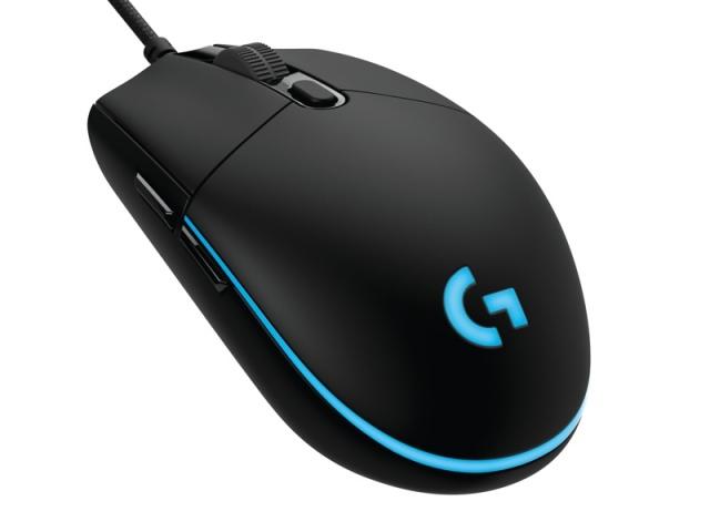 Logitech G Pro Gaming Mouse versenyzőknek tervezve