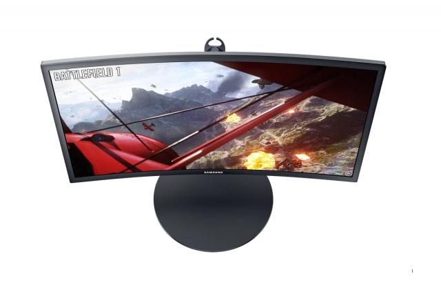 Új, ívelt gamer monitorokat mutatott be a Samsung