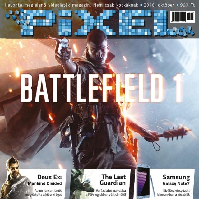 Pixel néven új nyomtatott gamer magazin indult