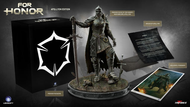 Mit rejt a For Honor Apollyon Collector's Edition?