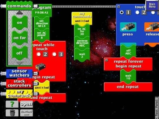 LEGO MINDSTORMS:  Robotics Invention System