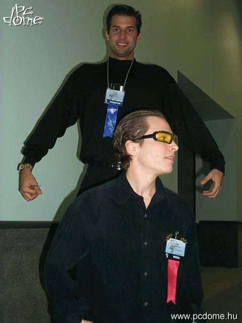 E3 2000 fényképek - Hírességek