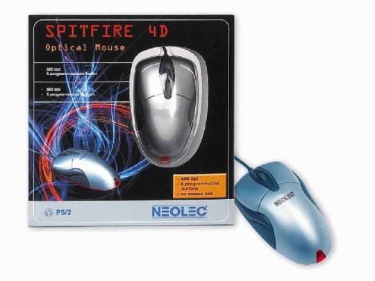 Neolec Spitfire 4D és AirView 405 RF optikai egerek