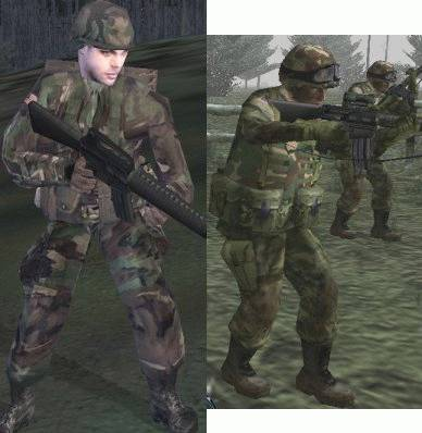 Operation Flashpoint vs Ghost Recon