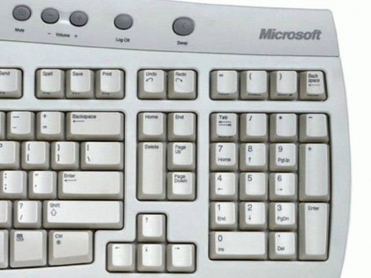 Microsoft Office Keyboard