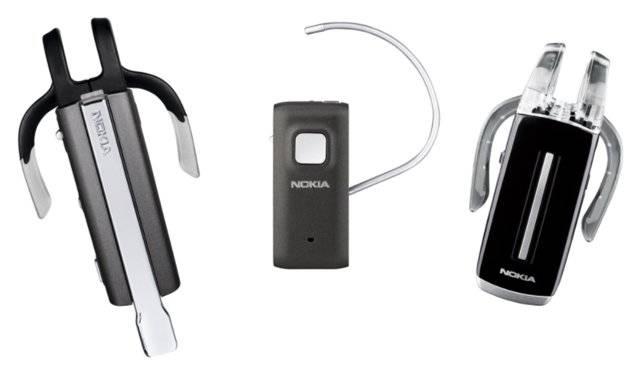 Három új Nokia Bluetooth headset