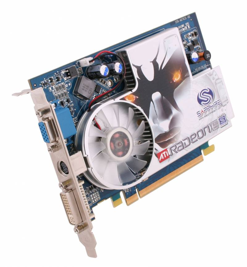Sapphire X1600 Pro AGP csatlakozással