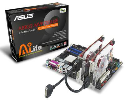 ASUS A8R32-MVP Deluxe alaplap Crossfire chipsettel