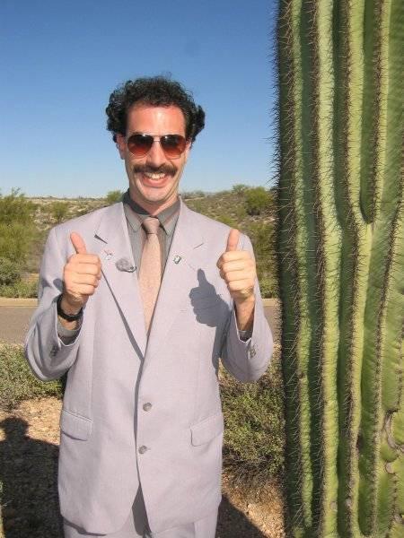 Botrányos Borat
