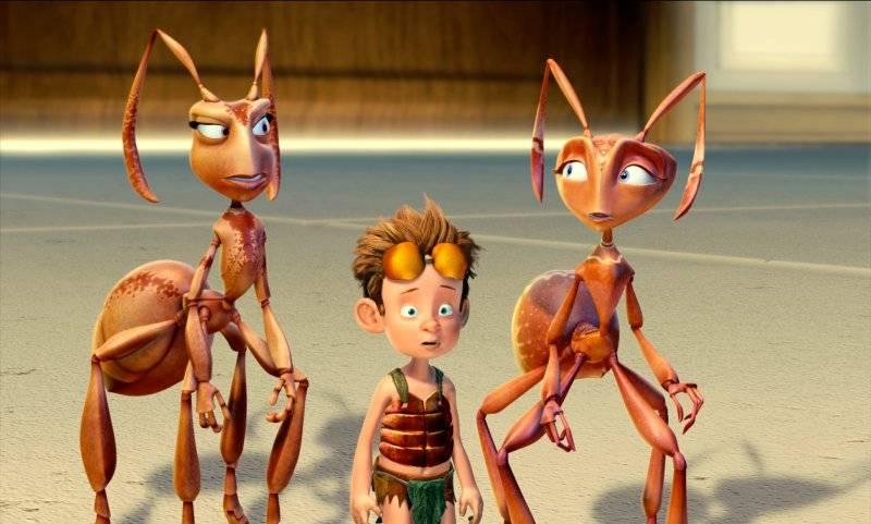 A hangyák arcai