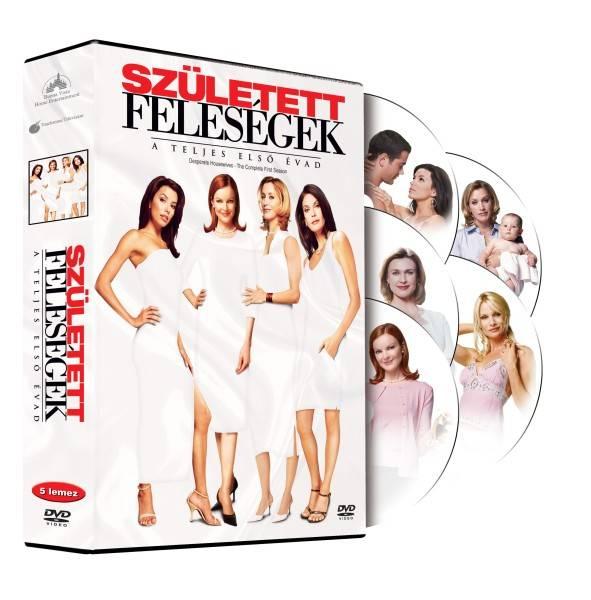 Született feleségek - a teljes első évad szinkronos DVD-n