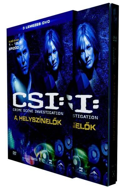 DVD-n a C.S.I. - A helyszínelők