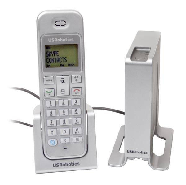 Vezeték nélküli Skype telefon a USRoboticstől
