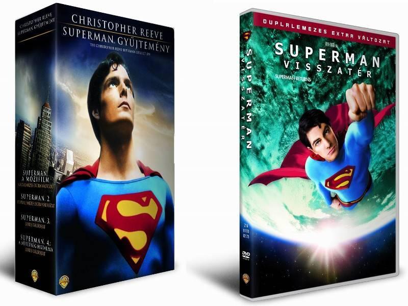 Az összes Superman-mozi novembertől DVD-n