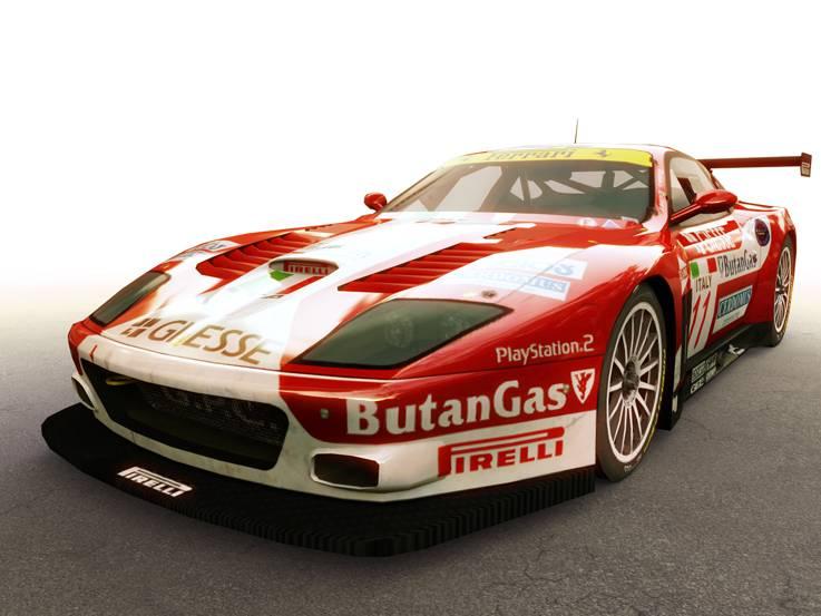 Ferrari licenc a 10tacle-nél