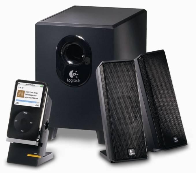 Logitech X-240 hangszóró számítógéphez és MP3 játszóhoz