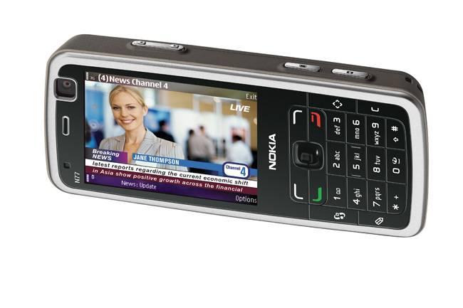 Nokia - élő televíziózás + YouTube