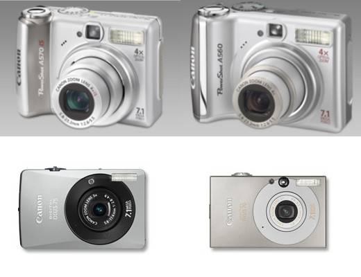 Új Canon digitális fényképezőgépek