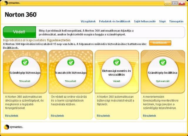 Norton 360: teljes védelmi megoldás az egész családnak
