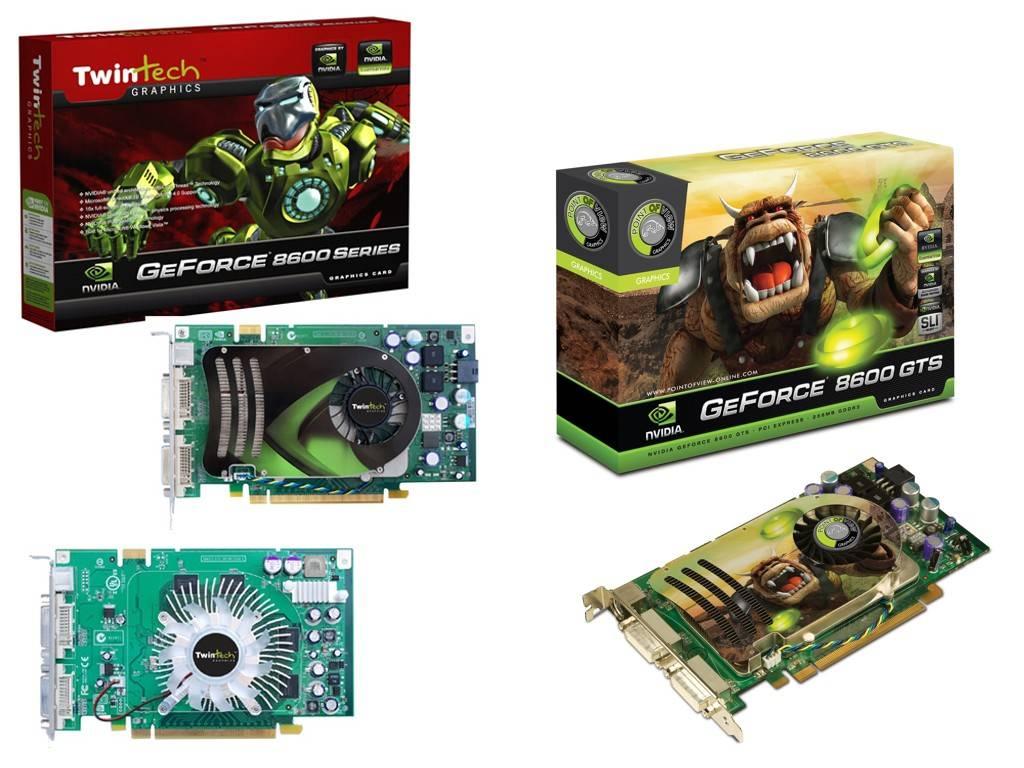 Tovább bővült az NVIDIA GeForce 8 szériája