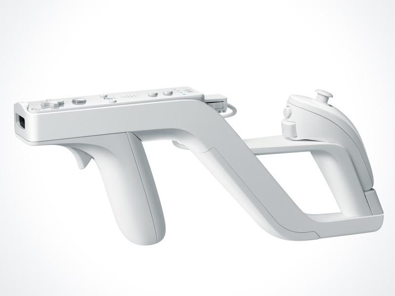 Zapper: puska alakú vezérlő-kiegészítő Wii-hez