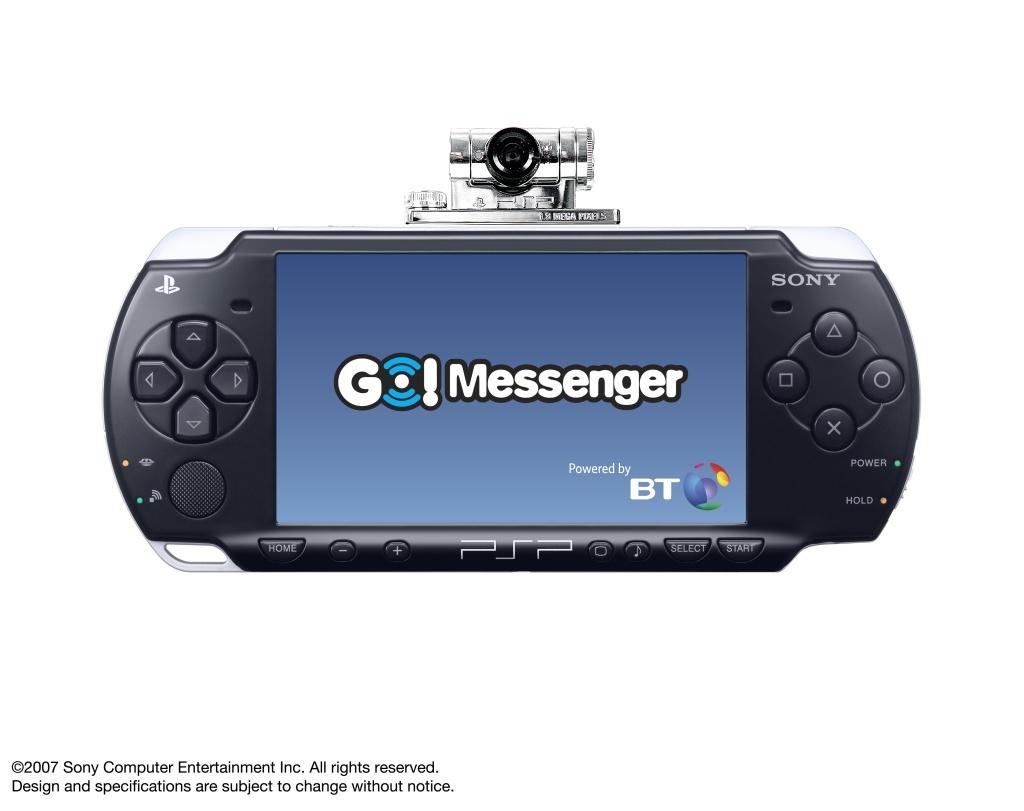 Videotelefonálás PSP-vel: Go!Messenger