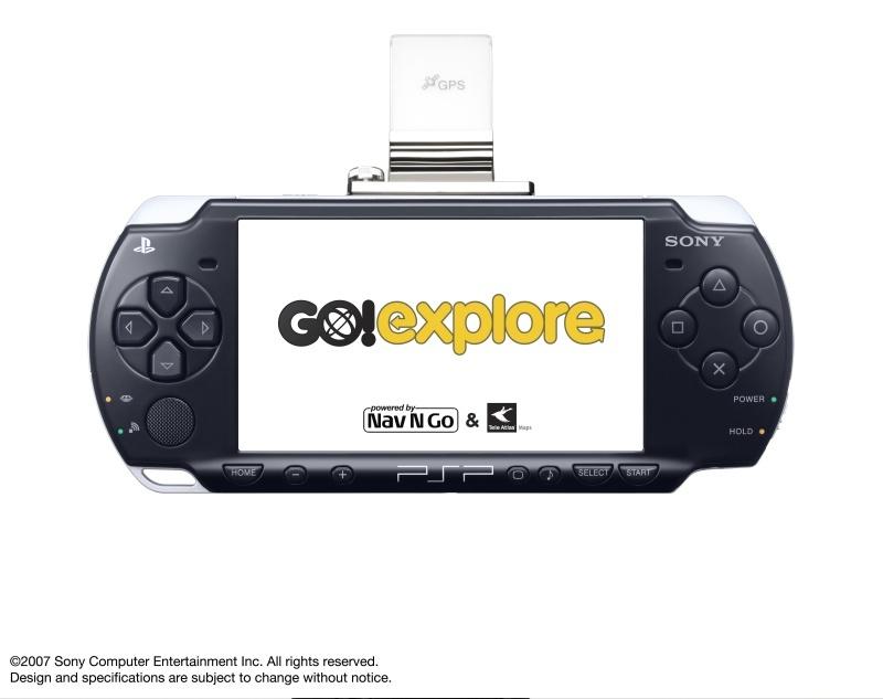 Go!Explore - navigációs rendszer PSP-hez