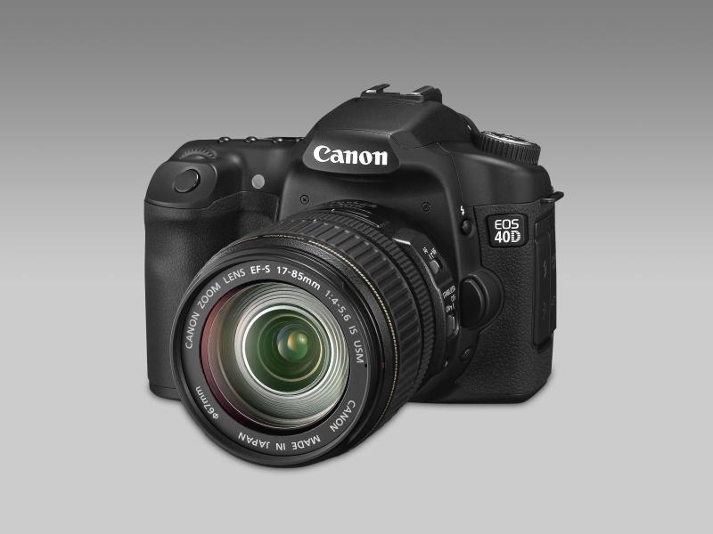 Canon EOS 40D - újabb tükörreflexes félprofi gép