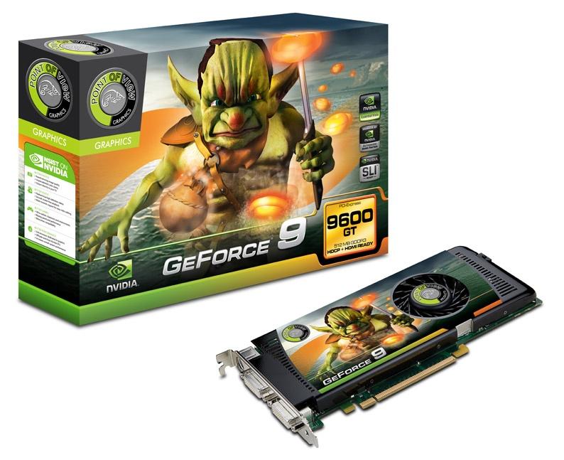 Megérkezett a GeForce 9600 GT