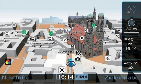 NVIDIA chip az Audi A8-ban