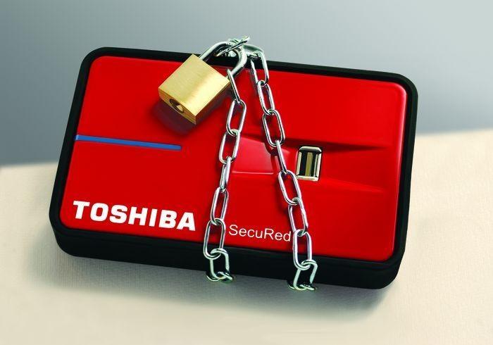 Toshiba - bemutatkozik a SecuRed
