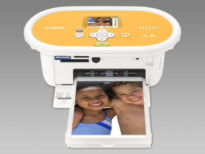 Canon - hordozható nyomtató és képeslap