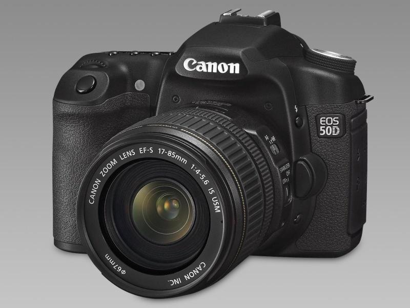 EOS 50D: Új fél-profi gép a Canontól