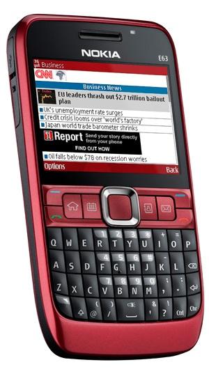 Nokia - Eseries a tömegpiacra