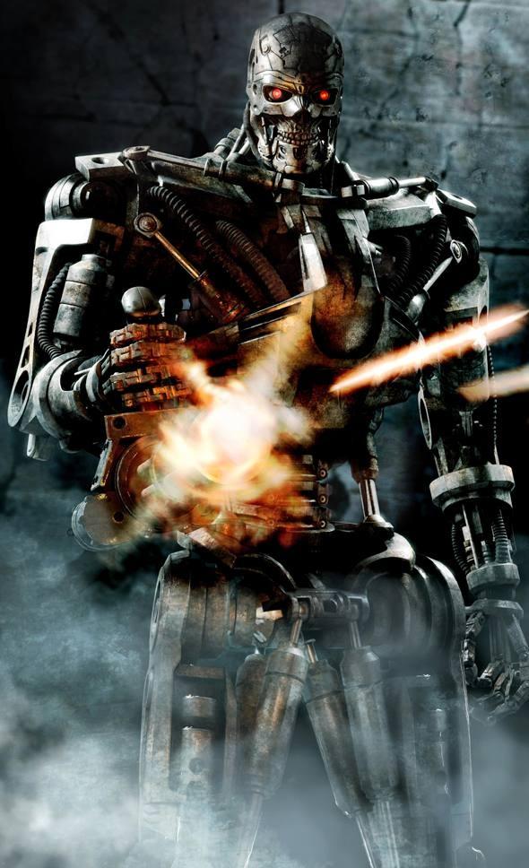 Terminator Salvation - itt a T-600