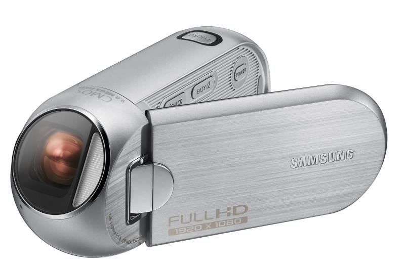 Samsung HMX-R10: döntött lencséjű HD kamera