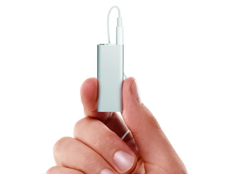 Új iPod shuffle modell érkezik