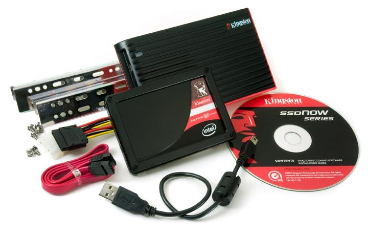 SSD készlet telepítési segédlettel a Kingstontól
