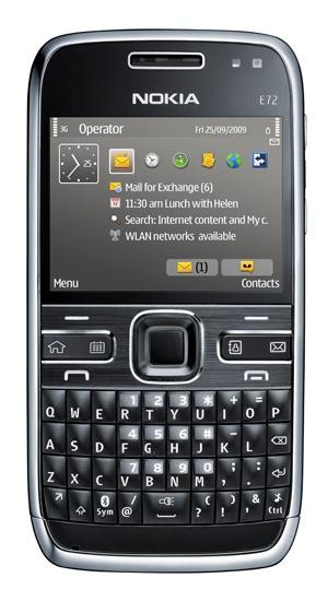Nokia - itt az E72