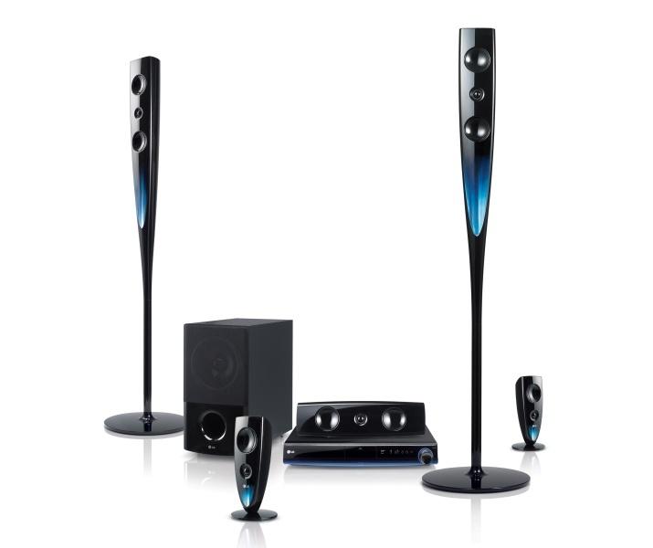 LG Blu-ray házimozi rendszer