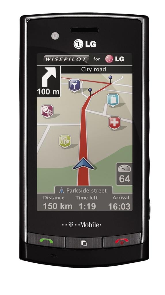 LG GT500 - navigációval