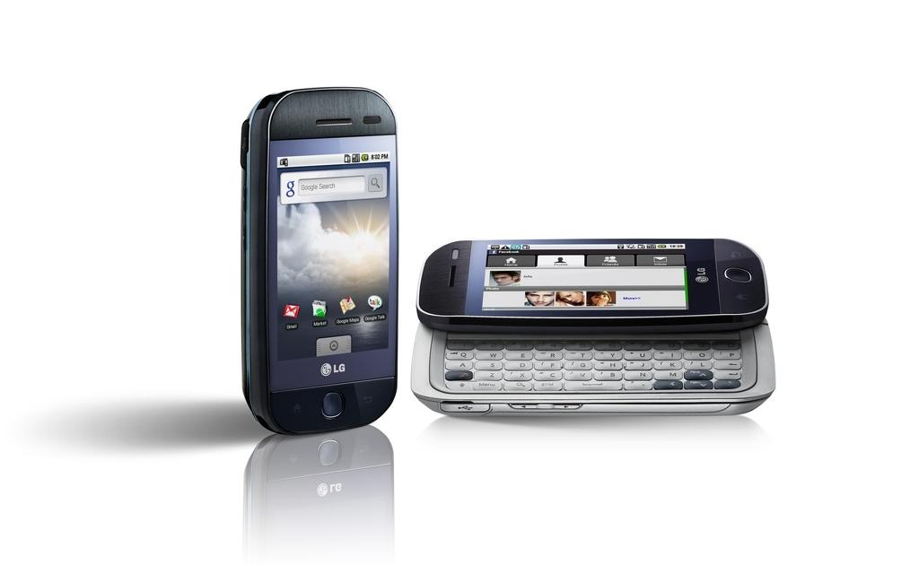 LG - érkezik az első Androidot használó mobil