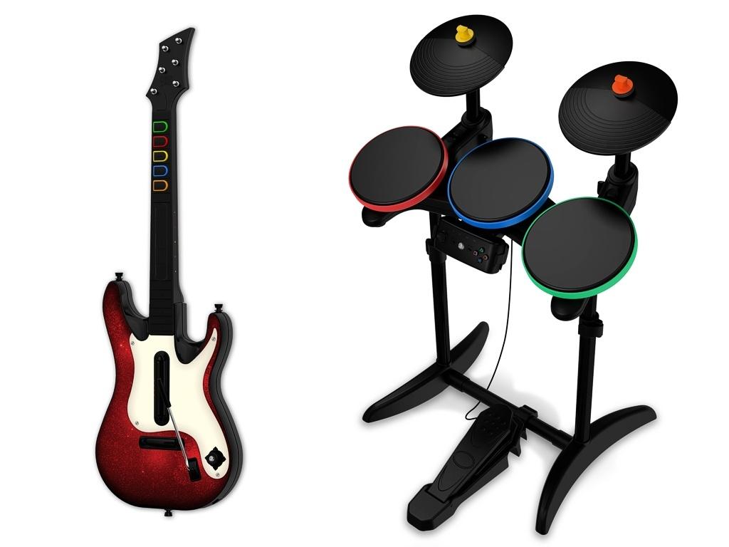 Új hangszerek a Band Herohoz
