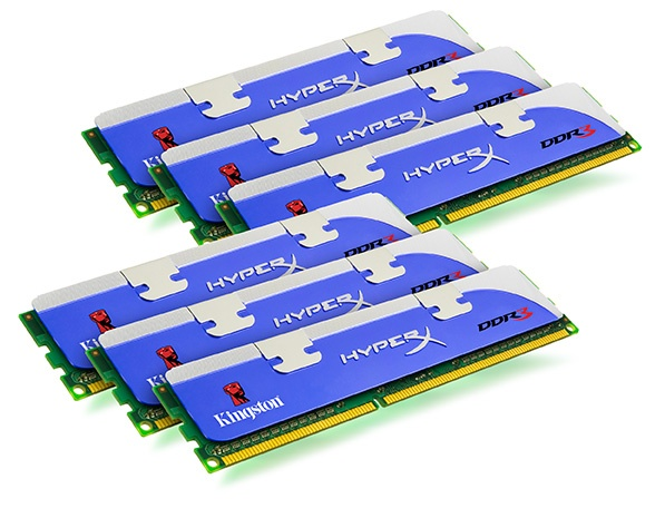 12 GB Kingston HyperX memória i7 rendszerekhez