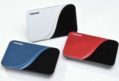 Toshiba StorE Art - elegáns színes külső winchesterek