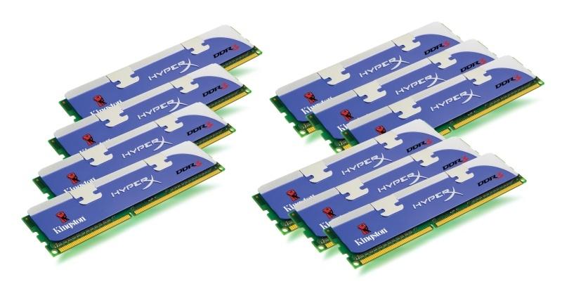 24 GB-os Kingston HyperX memóriakészlet