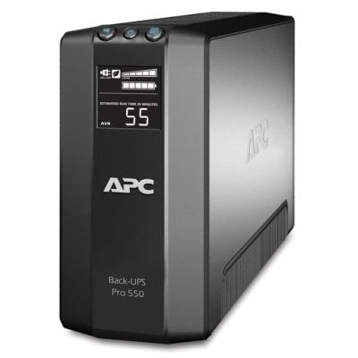 APC Back-UPS RS 550VA energiatakarékos megoldásokkal