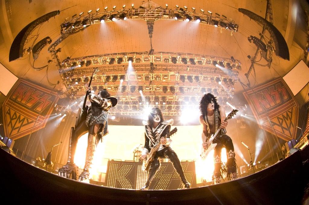 Kiss koncert Budapesten