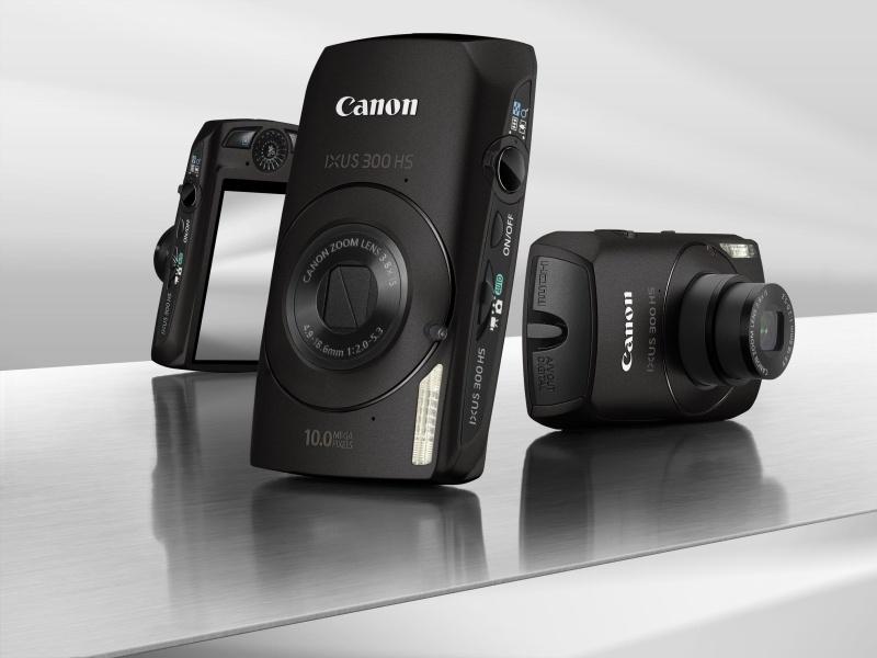 Új Canon IXUS modell: IXUS 300 HS